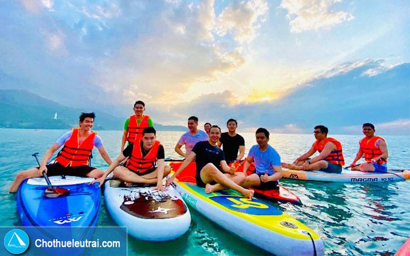 Cho Thuê Thuyền SUP   Ván Chèo Đứng Bơm Hơi tại TP.HCM - 4