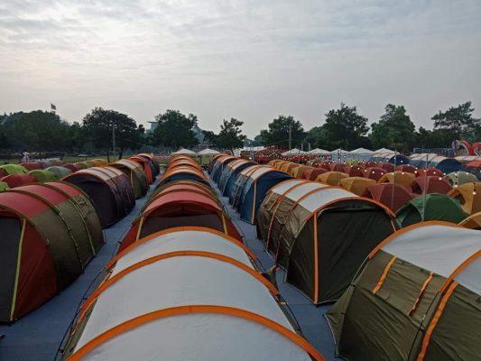 thuê lều số lượng lớn